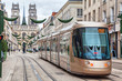 Brown tram in Orleans - 79993731