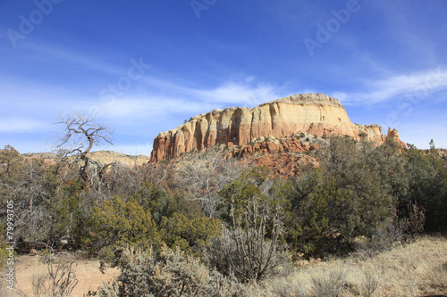 Kittchen Mesa mountain outcrop New Mexico