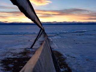 Hovsgol's sunset