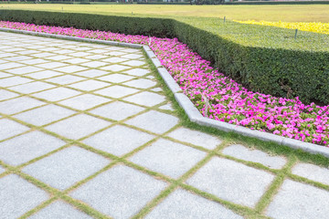 neat gardening background