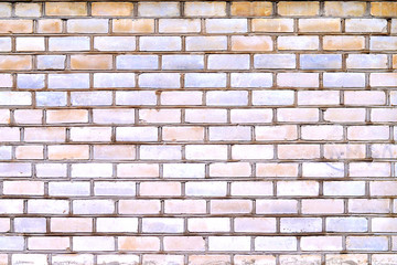 Brick Wall/ a background made of lime brick wall