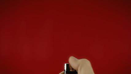 Lighter red frantic