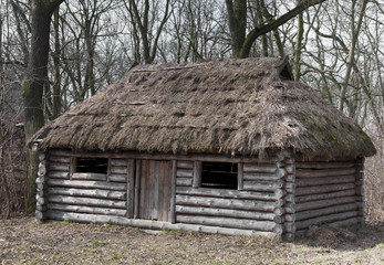old wooden house - medieval