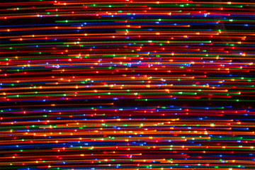 Bright background of lights