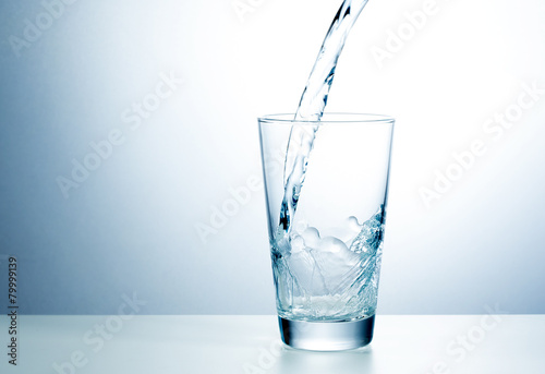 Glass of fresh water - 79999139