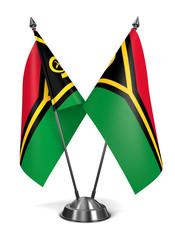 Vanuatu - Miniature Flags.