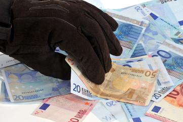 Vol d'argent