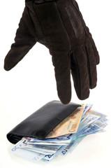 Vol d'un portefeuille