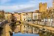 Canal de la Robine in Narbonne, Languedoc-Roussillon - France - 80002374
