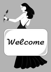 lady-black - welcome