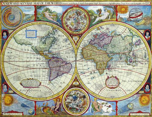 Antyczna mapa