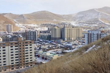 Houses in Ulaanbaatar