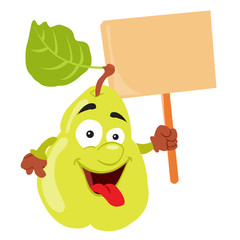 pear cartoon