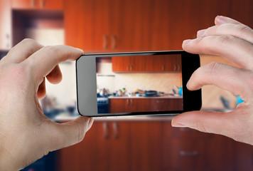 Kitchen photo  for smartphone