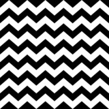 Fototapety Seamless zig zag pattern in black and white