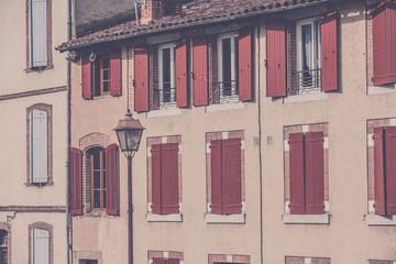 House facade, France