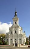 Church of St. Anna in Koden. Poland