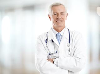 Male doctor portrait