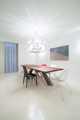 Dining room in modern design