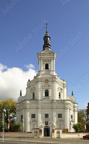 Zdjęcia na płótnie, fototapety, obrazy : Church of St. Anna in Koden. Poland