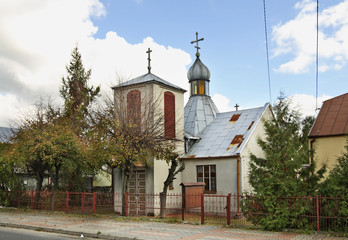 Church of St. Michael the Archangel in Koden. Poland