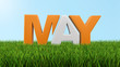 May on grass  (clipping path included) - 80008737
