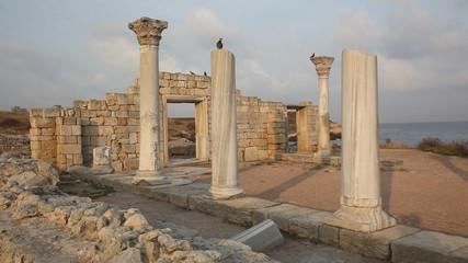 Ancient Greek city of Chersonese in Sevastopol, Crimea
