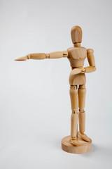 デッサン用人形 体操