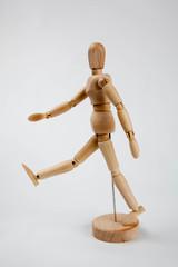 デッサン用人形 散歩
