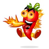 peperoncino piccante fuoco