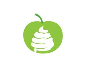 Fruity Frozen Yogurt Logo