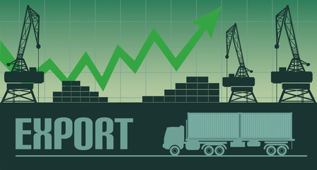 Export growth illustration