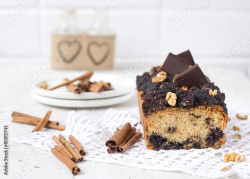 Nut and chocolate cake with cinnamon - 80015743