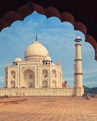 Taj Mahal, Agra, Uttah Pradesh, India