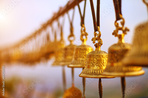 Leinwandbild Motiv Nepaly Bells