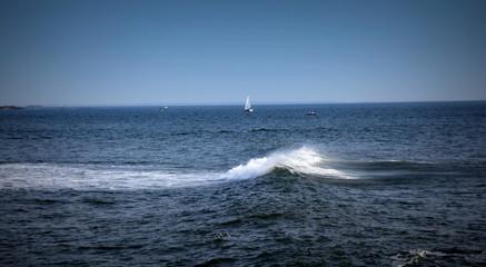 Shore break.