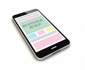 smartphone responsive design render