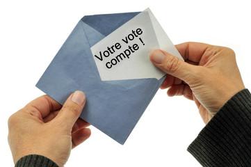 Votre vote compte