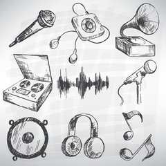 Music set.