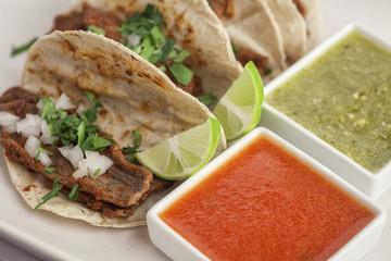 Tacos de Cecina