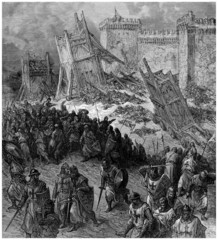 Crusaders : Attacking Jerusalem - 11th century