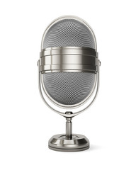 Classic style microphone