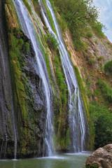 Three stream of waterfall
