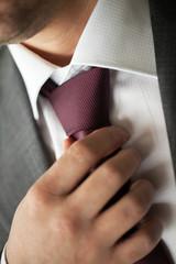 Tie. Men accessories.