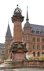 Marketplace in Wiesbaden. Germany