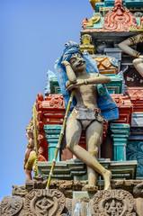 Detail  of indian Kapaleeswarar temple