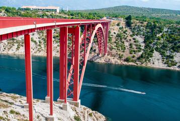 bridge in Croatia
