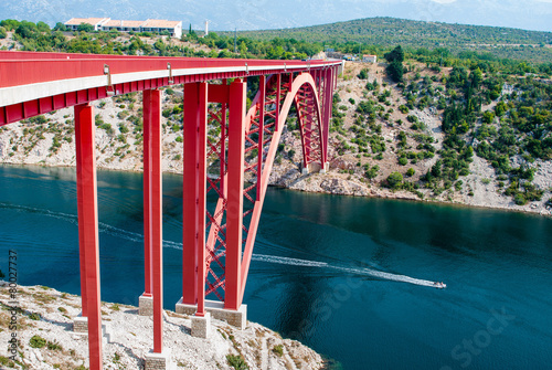 bridge in Croatia - 80027737