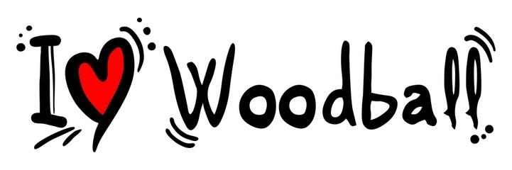 Woodball love