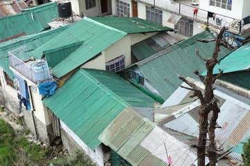 Kupferdächer und Blechdach